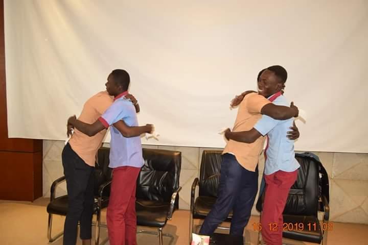 Réconciliation entre les élèves du LFE et LTC