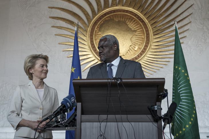 International : Ursula Von Der Leyen effectue sa première visite hors UE en Ethiopie
