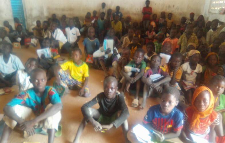 Société : l'école de Sanang, un chantier inachevé