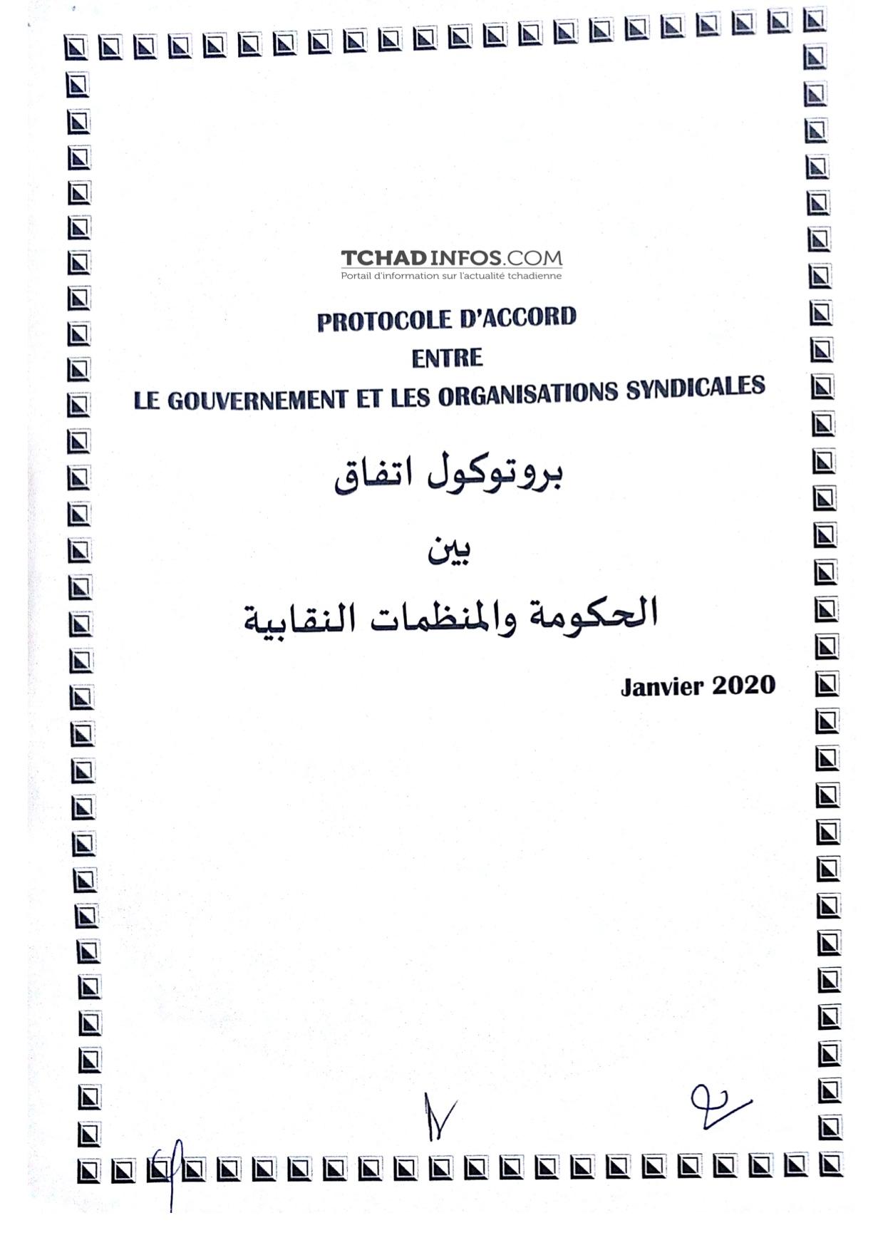 Voici le contenu de l'accord entre Gouvernement et Syndicats