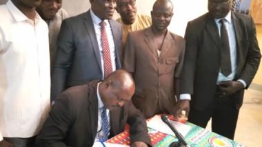 Environnement : l'UNEK signe son adhésion à la déclaration universelle des droits de l'humanité