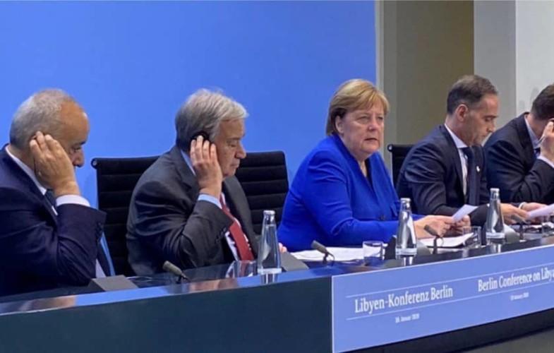 Les dirigeants étrangers cherchent une voie de sortie au conflit libyen à Berlin