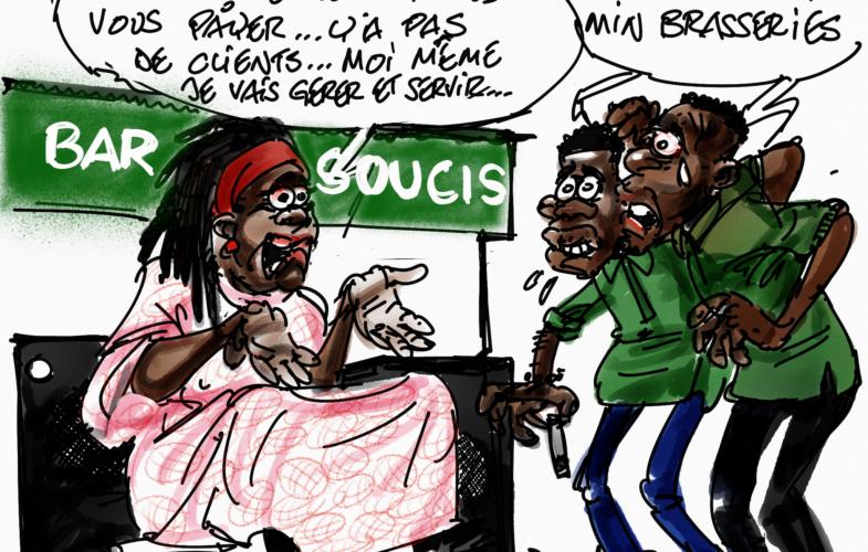 Tchad : des tenanciers des bars envoient leurs employés au chômage