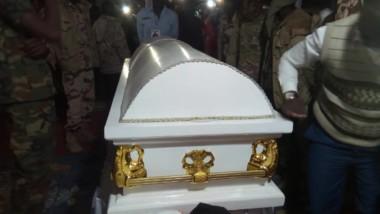 Tchad : le corps de Joseph Djimrangar Dadnadji déposé à son domicile pour la veillée mortuaire