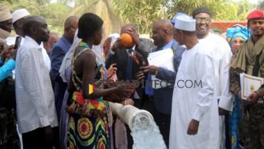 Tchad : inauguration du nouveau forage d'eau potable à Sarh