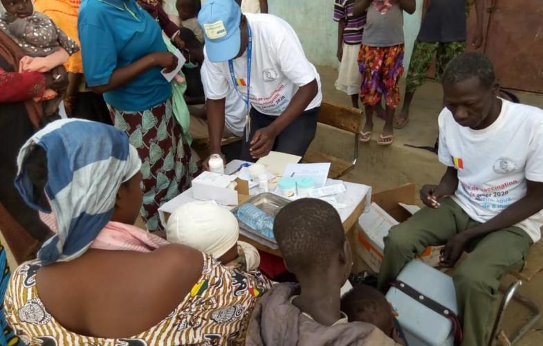 Lutte contre la rougeole : la campagne de vaccination se poursuit