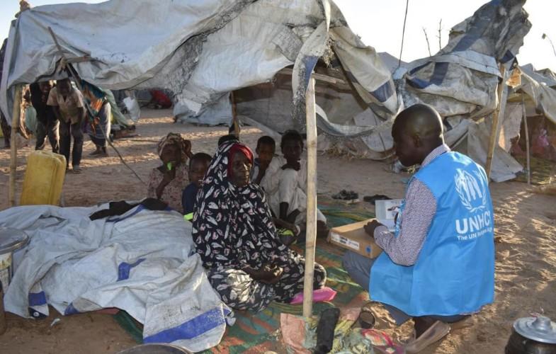 Tchad : le HCR a recensé        6 326 nouveaux réfugiés soudanais