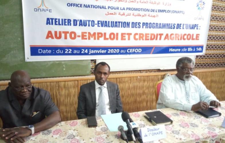 Tchad : l'ONAPE procède à l'auto évaluation de ses programmes