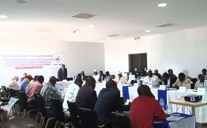 Tchad : la CEEAC renforce la capacité des journalistes et la société civile sur les conflits électoraux