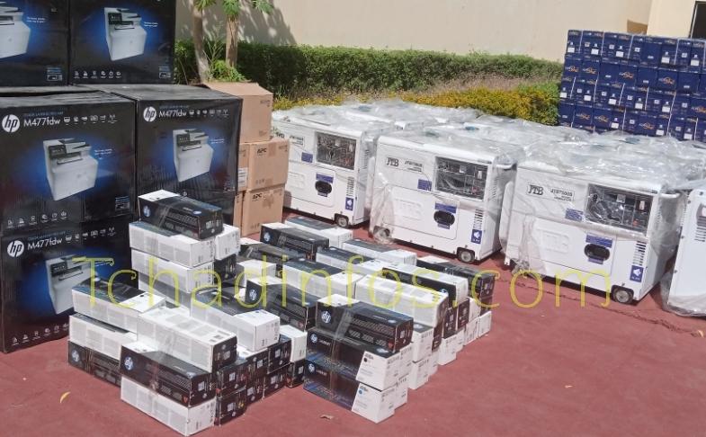 Tchad : la CEEAC offre un don de matériels informatiques et logistiques à la Céni