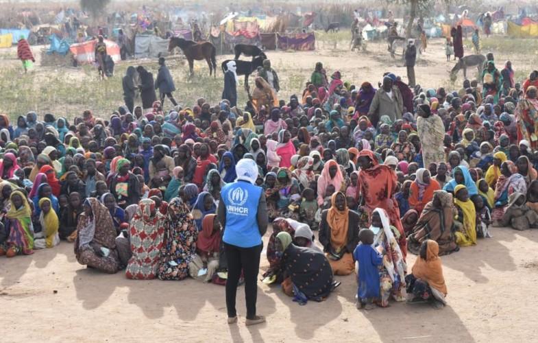 Des milliers de Darfouriens fuient vers le Tchad