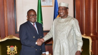 Afrique : le nouveau président de la Guinée-Bissau à N'Djaména