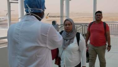 Tchad : un nouveau protocole sanitaire établi pour les passagers à destination de N'Djamena