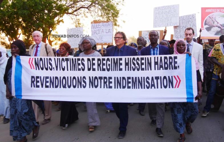 Tchad: les victimes d'Hissein Habré ont encore fait parler d'elles