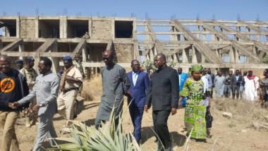 Tchad : visite des infrastructures de Bongor par le ministre Doubragne et sa suite