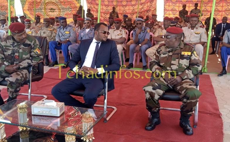 Tchad : passation de commandement entre Taher Erda et Abakar Abdelkrim