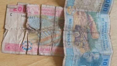 Tchad : les petits billets de banque se font de plus en plus rares