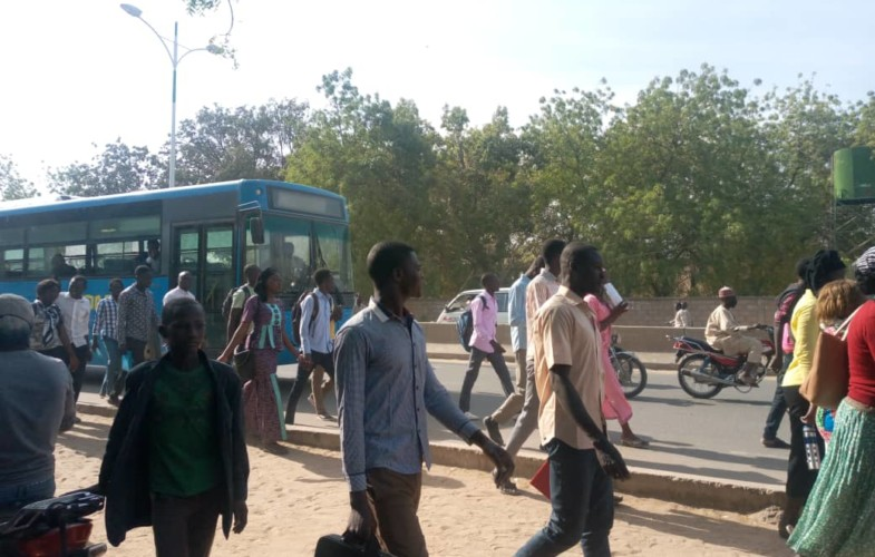 Tchad : les étudiants de l'université de N'Djamena boycottent leur transport