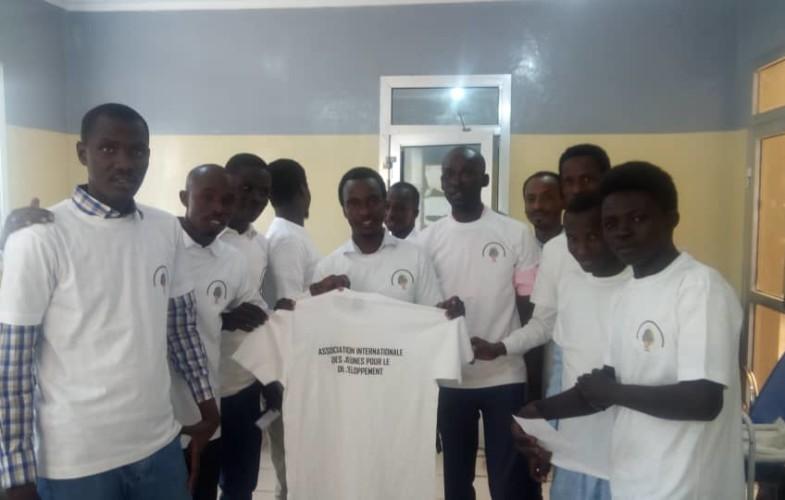 Tchad : AIJD  fait un don de sang au CNTS