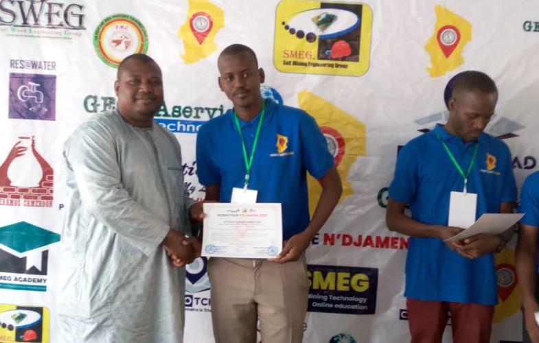 Tchad : une trentaine de jeunes formés en géomatique