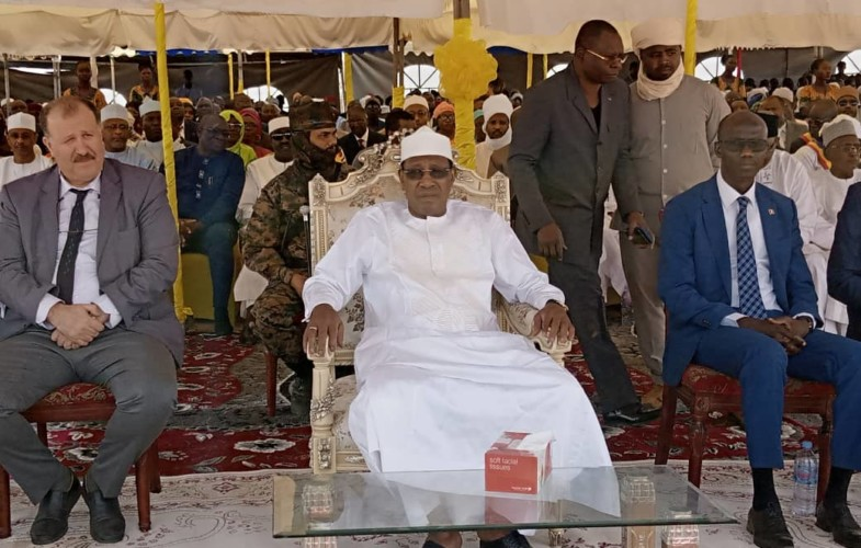 Tchad : le chef de l'État est à Laï pour le lancement du PADLFIT