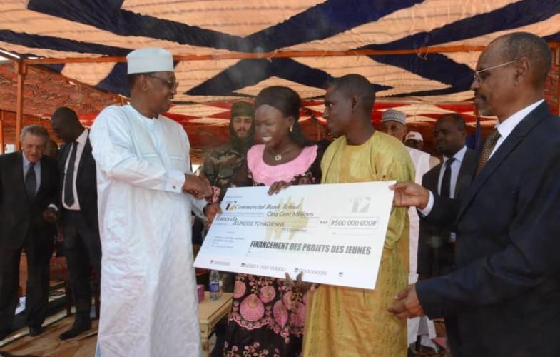 Tchad : Déby octroie 500 millions pour l'entrepreneuriat de la jeunesse