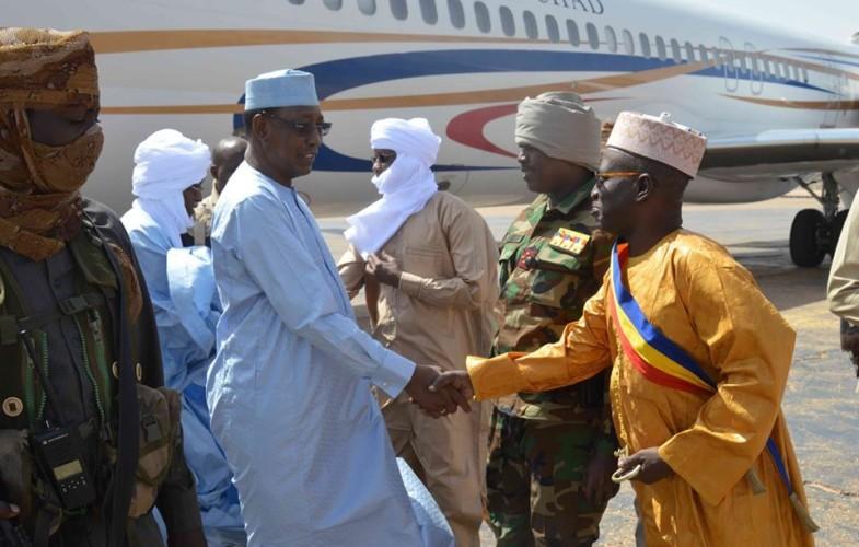 Tchad : le chef de l'Etat est à Faya