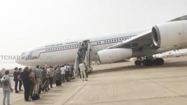 #Coronavirus : le vol spécial pour l'évacuation des Français et Européens de passage temporaire au #Tchad vient de décoller