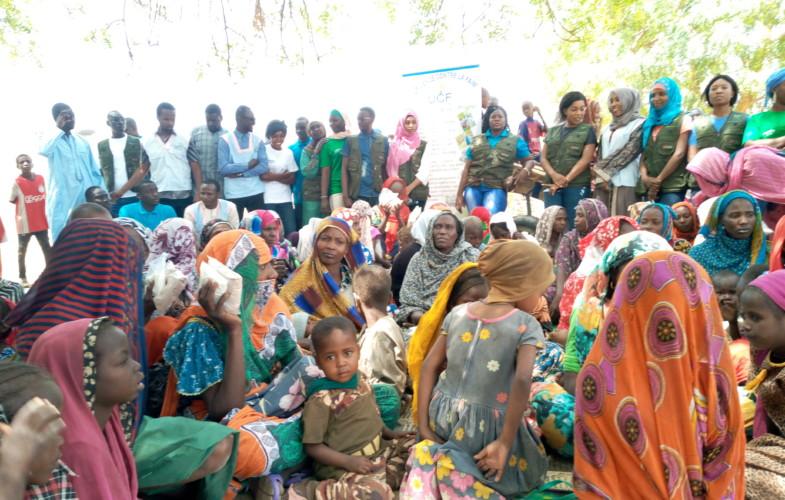 Tchad : des femmes du village Bocha outillées en méthodes de préparation de la bouillie enrichie