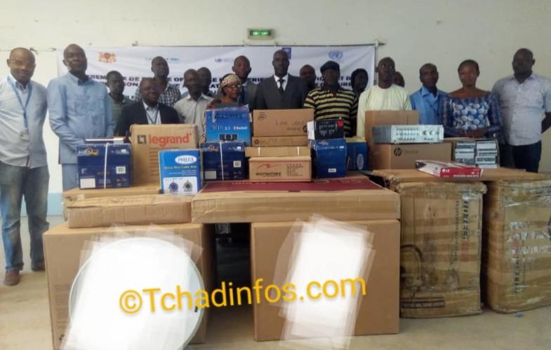 Tchad : le PNUD fait un don en équipement à la plateforme des maisons de culture de N'Djamena