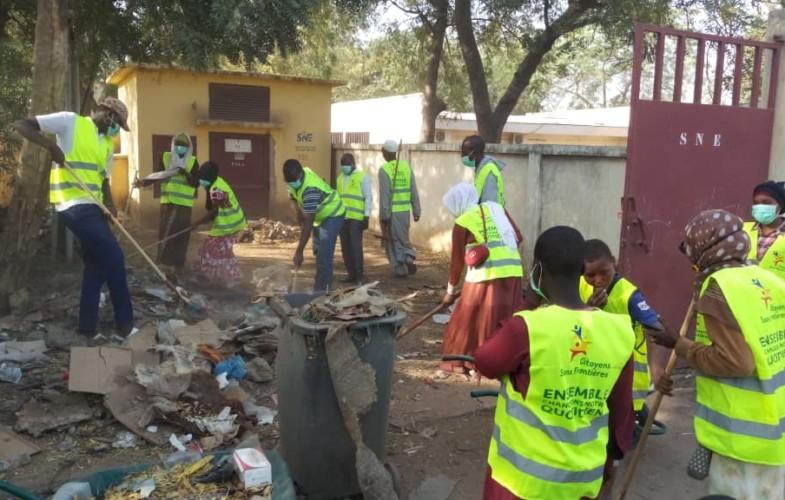 Tchad : opération coup de balai au centre de santé de Blabling