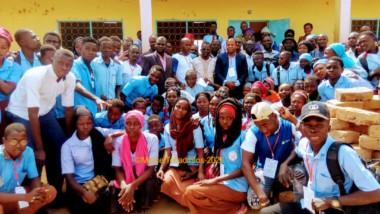 Journée de brassage scolaire entre le club réglo du lycée Félix Eboué et les élèves du lycée Toukra-Dogoré