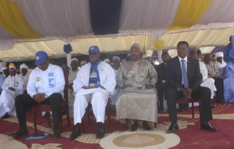 """""""Le MPS est devenu grand, géant"""", déclare Mahamat Zen Bada"""