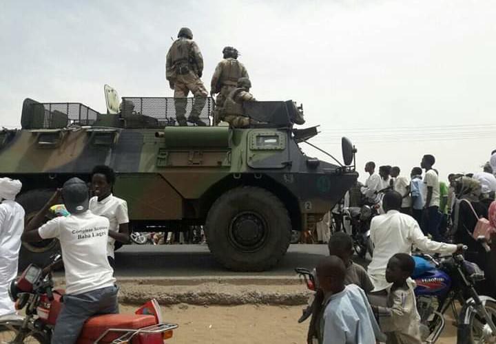 Tchad : un convoi de l'opération Barkhane a renversé un motocycliste
