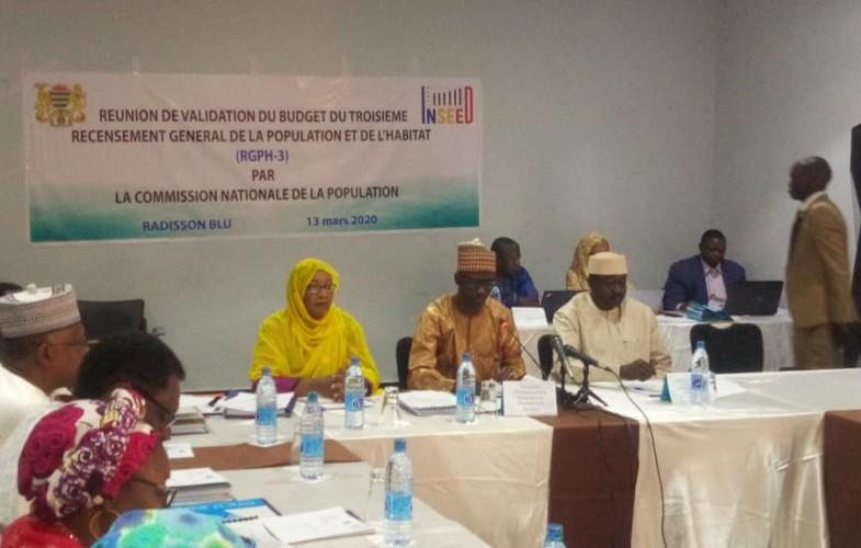 Tchad : le budget du RGPH3 en cours de validation