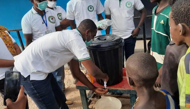 Coronavirus : les enfants en situation de rue sensibilisés au lavage des mains