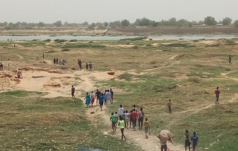 Coronavirus : la police effectue une descente au bord du fleuve Chari à N'Djamena