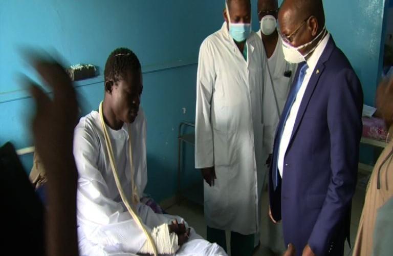 Tchad : le gouvernement apporte son soutien aux blessés du Lac