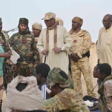 Opération colère de Bohoma: Déby au chevet des soldats blessés