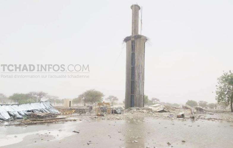 Province : le nouveau château d'eau de la ville de Massakory s'est écroulé