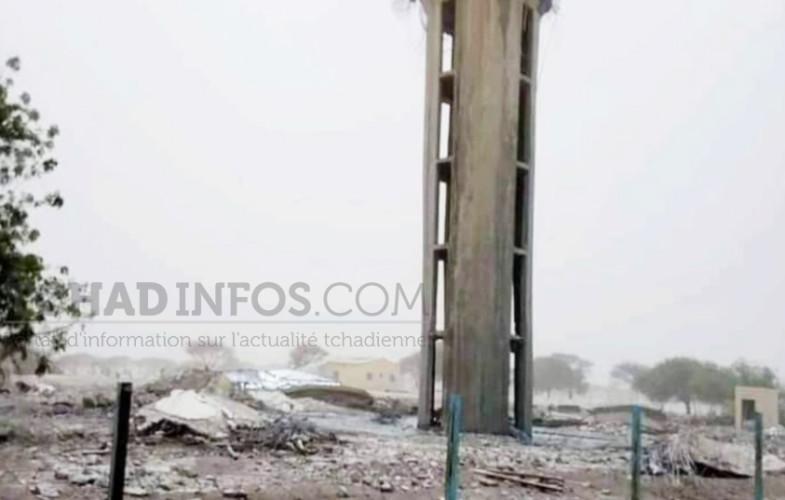 Massakory : l'effondrement du château d'eau suscite des réactions