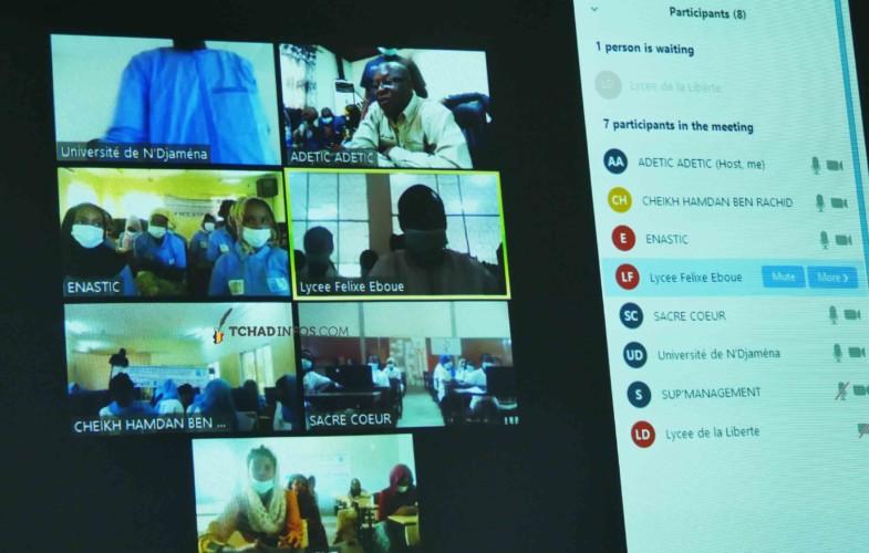 Tchad : la journée des jeunes filles dans le secteur des TIC célébrée au format virtuel