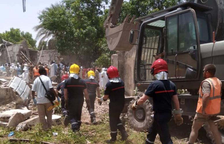N'Djamena : le bilan provisoire de l'explosion est de 4 morts