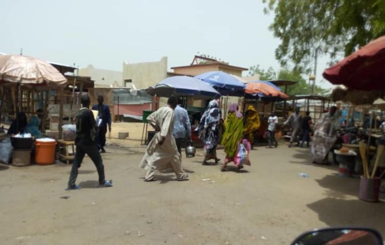 Coronavirus au Tchad : le marché de N'Djamena respecte-t-il les « mesures barrières » ?
