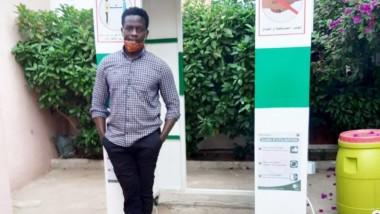 Coronavirus : un étudiant de 21 ans fabrique un dispositif de désinfection corporelle