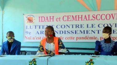 Coronavirus : des étudiants en médecine du 9ème arrondissement de N'Djamena s'activent