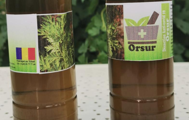 """Coronavirus : le gouvernement interdit la vente d'""""Orsur"""" le Covid-organic tchadien"""