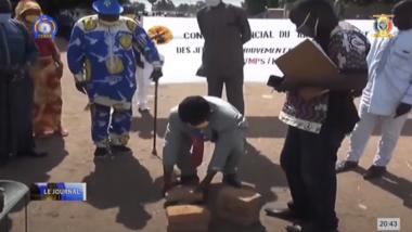 """Province : les militants du Mps de Doba baptisent un rond-point """"Colère de Bohoma"""""""