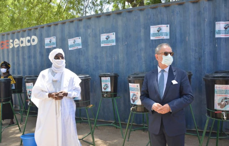 Coronavirus: l'ambassade de France soutient la mairie de N'Djaména dans la lutte
