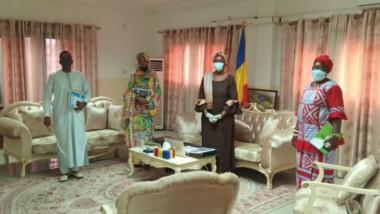 Tchad: la ministre du Commerce reçoit une délégation du collectif entrepreneurial «Ecosystème»